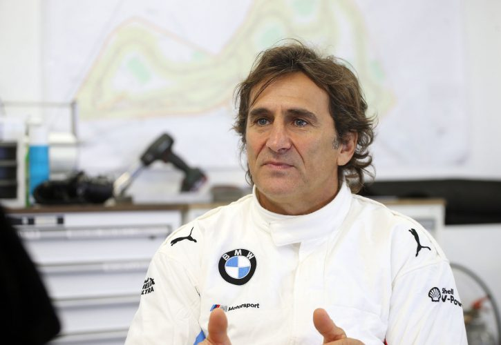 Paralympic champion and former F1 driver