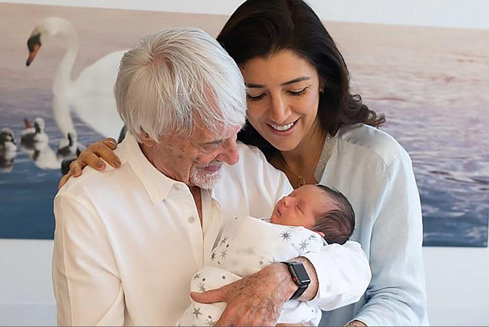 Former Racing Mogul Becomes a Dad at 89