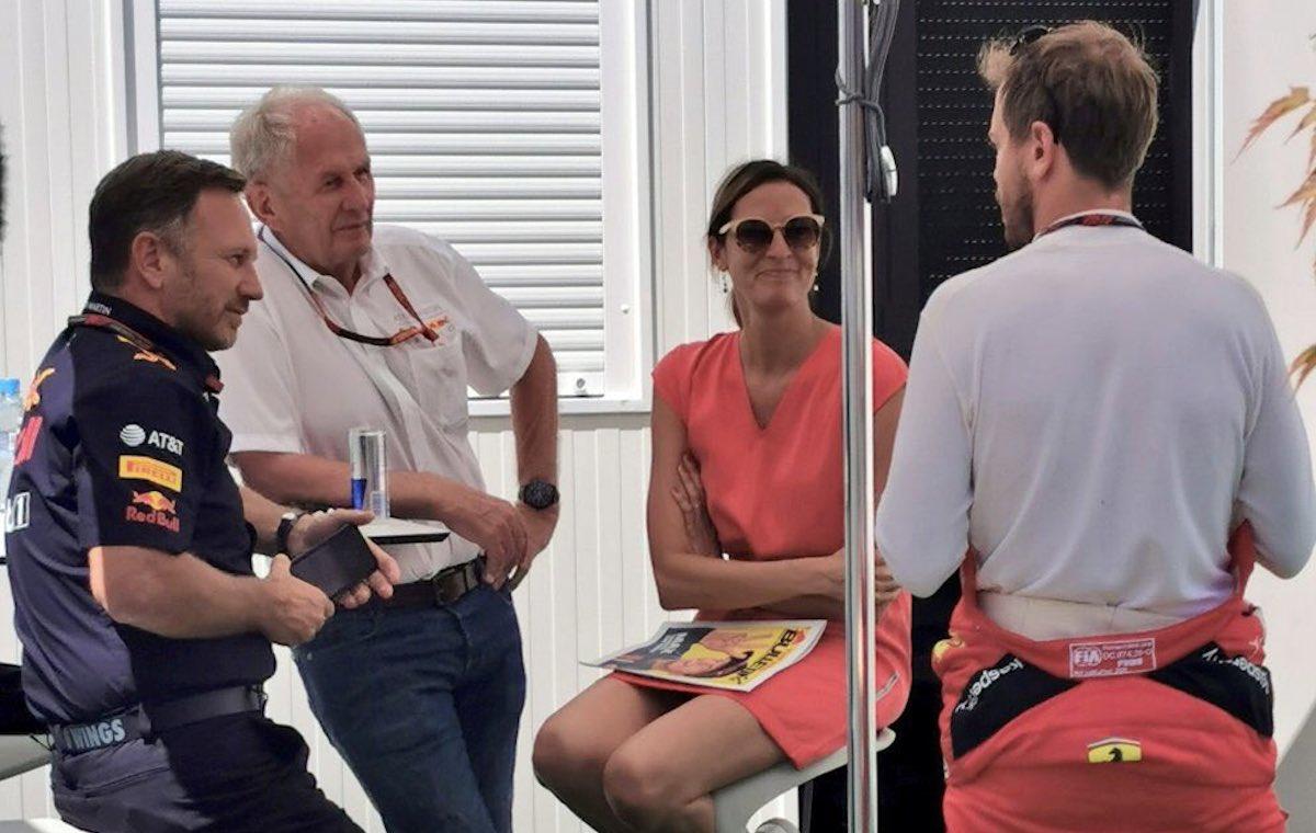 FIA reminds mask-less Vettel, Red Bull of COVID-19 protocol - F1i.com