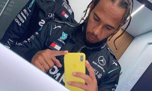 Hamilton clarifies social media 'anti-vaxxer' shared post