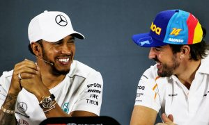 Hamilton has no doubt Alonso will be 'in great shape'