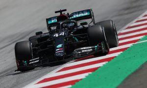 Mercedes admits Hamilton's car is 'all over the place'