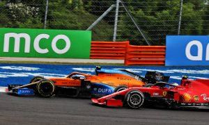 McLaren boosted by prospect of beating Ferrari - Norris