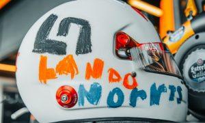 Norris unveils British GP helmet designed by 6-year-old fan!