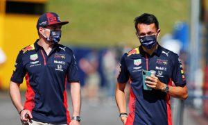 Verstappen: No reason for Red Bull to swap Albon for Vettel