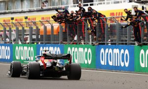 Verstappen says second place 'like a victory' after pre-race drama