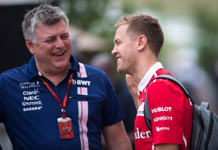 Perez relaxed over 'rumours' Vettel will replace him