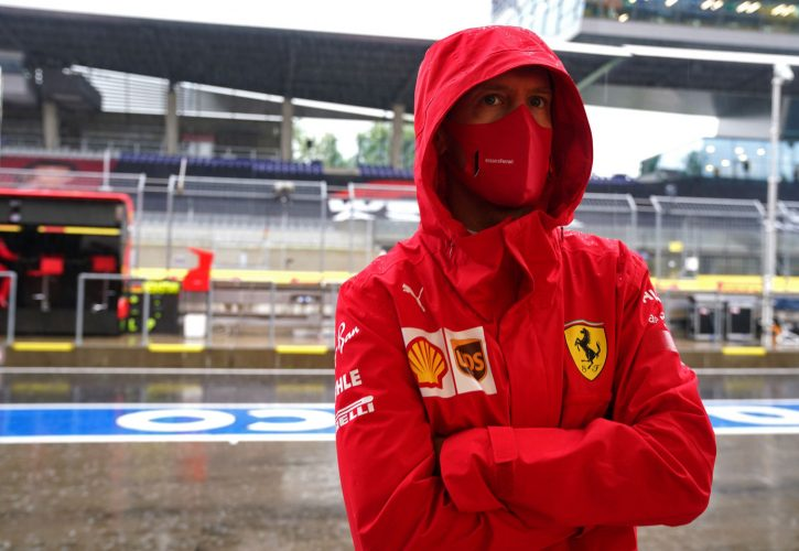 Vettel: Ferrari performing