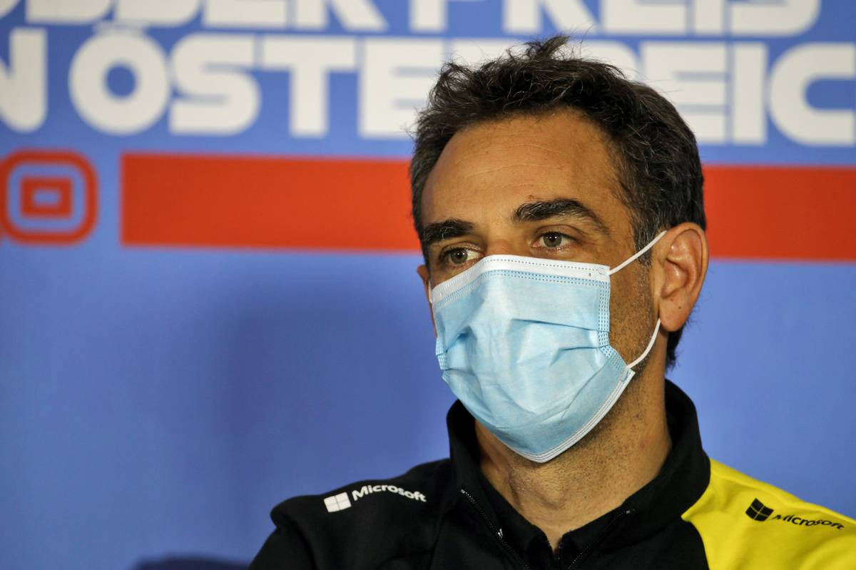 Cyril Abiteboul (FRA) Renault Sport F1 Managing Director in the FIA Press Conference.