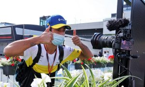 Scenes from the paddock: Spielberg