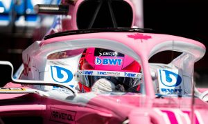 Perez 'competitive' despite losing out on podium