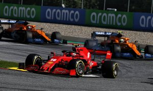 Leclerc: Unexpected runner-up spot 'feels like a victory'