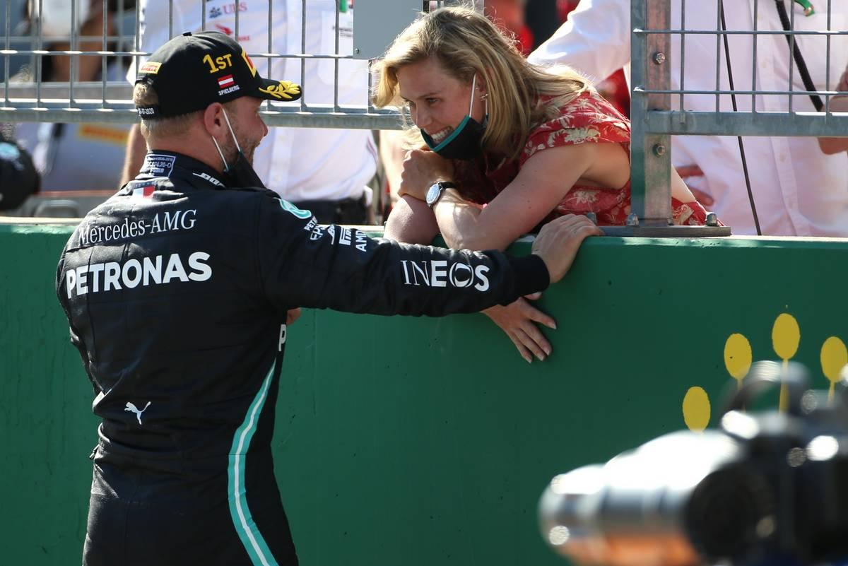 Valtteri Bottas (FIN), Mercedes AMG F1 and his girlfriend Tiffany Cromwell (AUS)