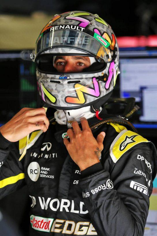 Daniel Ricciardo (AUS) Renault F1 Team. 10.07.2020. Formula 1 World Championship, Rd 2, Steiermark Grand Prix, Spielberg, Austria, Practice Day. - www.xpbimages.com, EMail: requests@xpbimages.com © Copyright: Moy / XPB Images
