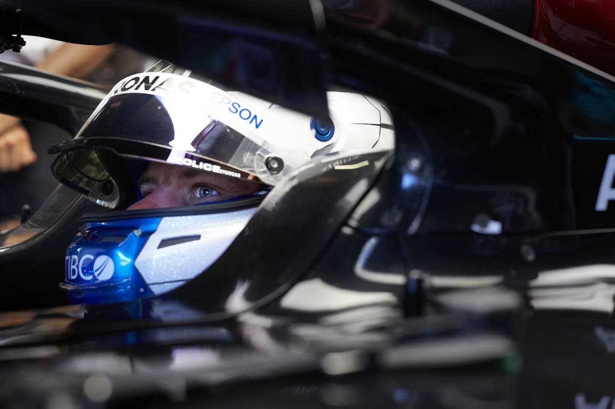 Silverstone first practice: Bottas leads Hamilton
