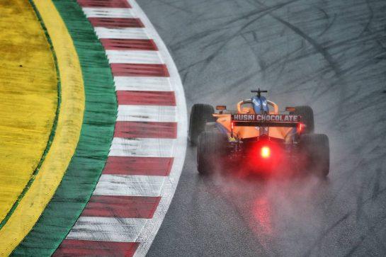Carlos Sainz Jr (ESP) McLaren MCL35. 11.07.2020. Formula 1 World Championship, Rd 2, Steiermark Grand Prix, Spielberg, Austria, Qualifying Day. - www.xpbimages.com, EMail: requests@xpbimages.com © Copyright: Batchelor / XPB Images