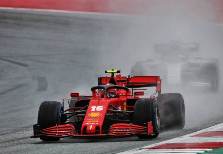 I let everyone down - Charles Leclerc apologises for Sebastian Vettel collision