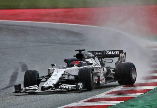 Daniil Kvyat (RUS) AlphaTauri AT01. 11.07.2020. Formula 1 World Championship, Rd 2, Steiermark Grand Prix, Spielberg, Austria, Qualifying Day. - www.xpbimages.com, EMail: requests@xpbimages.com © Copyright: Charniaux / XPB Images