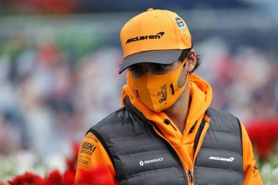 Carlos Sainz Jr (ESP) McLaren. 12.07.2020. Formula 1 World Championship, Rd 2, Steiermark Grand Prix, Spielberg, Austria, Race Day. - www.xpbimages.com, EMail: requests@xpbimages.com © Copyright: Moy / XPB Images
