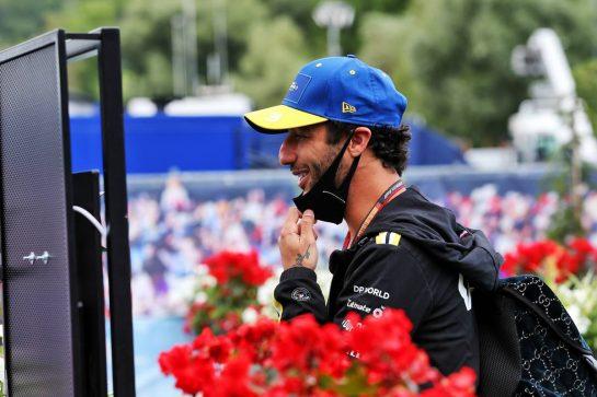 Daniel Ricciardo (AUS) Renault F1 Team. 12.07.2020. Formula 1 World Championship, Rd 2, Steiermark Grand Prix, Spielberg, Austria, Race Day. - www.xpbimages.com, EMail: requests@xpbimages.com © Copyright: Moy / XPB Images