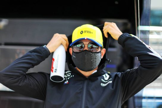 Esteban Ocon (FRA) Renault F1 Team. 12.07.2020. Formula 1 World Championship, Rd 2, Steiermark Grand Prix, Spielberg, Austria, Race Day. - www.xpbimages.com, EMail: requests@xpbimages.com © Copyright: Moy / XPB Images