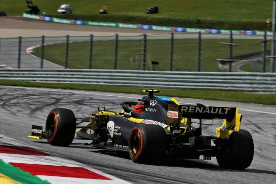 Esteban Ocon (FRA) Renault F1 Team RS20. 12.07.2020. Formula 1 World Championship, Rd 2, Steiermark Grand Prix, Spielberg, Austria, Race Day. - www.xpbimages.com, EMail: requests@xpbimages.com © Copyright: Batchelor / XPB Images