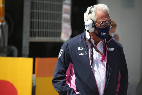 Lawrence Stroll (CDN) Racing Point F1 Team Investor.12.07.2020. Formula 1 World Championship, Rd 2, Steiermark Grand Prix, Spielberg, Austria, Race Day.- www.xpbimages.com, EMail: requests@xpbimages.com © Copyright: Batchelor / XPB Images