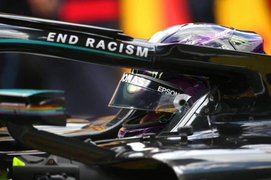 Lewis Hamilton (GBR) Mercedes AMG F1 W11.12.07.2020. Formula 1 World Championship, Rd 2, Steiermark Grand Prix, Spielberg, Austria, Race Day.- www.xpbimages.com, EMail: requests@xpbimages.com © Copyright: Batchelor / XPB Images