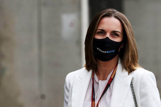 Claire Williams (GBR) Williams Racing Deputy Team Principal.