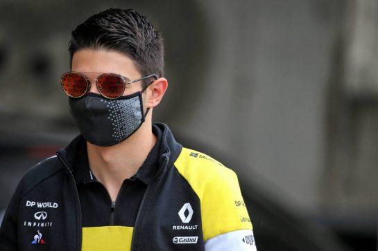 Esteban Ocon (FRA) Renault F1 Team. 17.07.2020. Formula 1 World Championship, Rd 3, Hungarian Grand Prix, Budapest, Hungary, Practice Day. - www.xpbimages.com, EMail: requests@xpbimages.com © Copyright: Batchelor / XPB Images