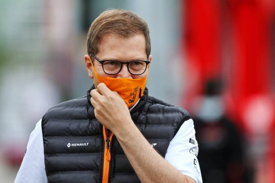 Andreas Seidl, McLaren Managing Director. 17.07.2020. Formula 1 World Championship, Rd 3, Hungarian Grand Prix, Budapest, Hungary, Practice Day. - www.xpbimages.com, EMail: requests@xpbimages.com © Copyright: Moy / XPB Images