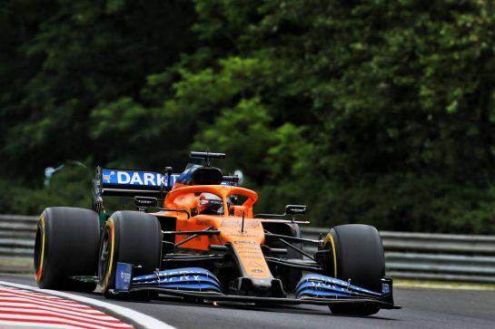 Carlos Sainz Jr (ESP) McLaren MCL35. 17.07.2020. Formula 1 World Championship, Rd 3, Hungarian Grand Prix, Budapest, Hungary, Practice Day. - www.xpbimages.com, EMail: requests@xpbimages.com © Copyright: Charniaux / XPB Images