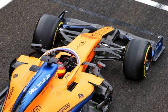 Carlos Sainz Jr (ESP) McLaren MCL35. 17.07.2020. Formula 1 World Championship, Rd 3, Hungarian Grand Prix, Budapest, Hungary, Practice Day. - www.xpbimages.com, EMail: requests@xpbimages.com © Copyright: Bearne / XPB Images