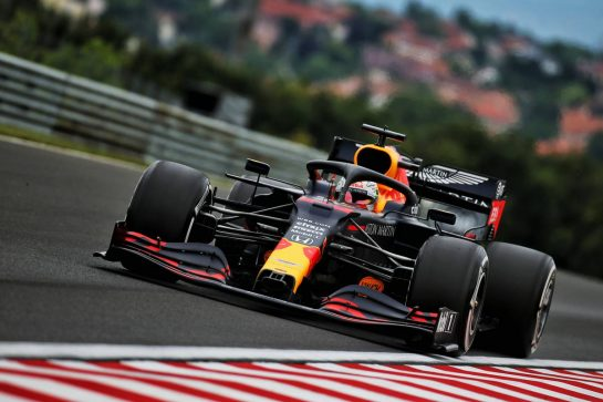 Max Verstappen (NLD) Red Bull Racing RB16. 17.07.2020. Formula 1 World Championship, Rd 3, Hungarian Grand Prix, Budapest, Hungary, Practice Day. - www.xpbimages.com, EMail: requests@xpbimages.com © Copyright: Batchelor / XPB Images