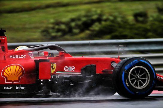Sebastian Vettel (GER) Ferrari SF1000. 17.07.2020. Formula 1 World Championship, Rd 3, Hungarian Grand Prix, Budapest, Hungary, Practice Day. - www.xpbimages.com, EMail: requests@xpbimages.com © Copyright: Batchelor / XPB Images