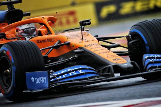 Carlos Sainz Jr (ESP) McLaren MCL35. 17.07.2020. Formula 1 World Championship, Rd 3, Hungarian Grand Prix, Budapest, Hungary, Practice Day. - www.xpbimages.com, EMail: requests@xpbimages.com © Copyright: Batchelor / XPB Images