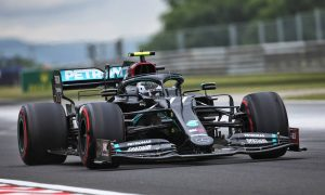 Mercedes still fastest in FP3 but Perez inches closer