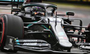 Mercedes locks out front row as Hamilton pips Bottas