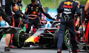 Red Bull crew works miracles to repair Verstappen blunder!