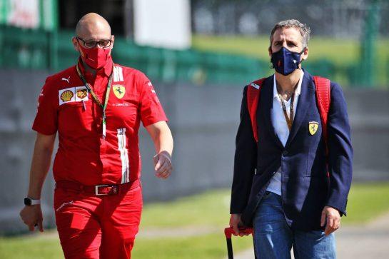 Ferrari. 30.07.2020. Formula 1 World Championship, Rd 4, British Grand Prix, Silverstone, England, Preparation Day. - www.xpbimages.com, EMail: requests@xpbimages.com © Copyright: Batchelor / XPB Images
