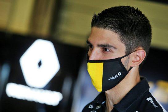 Esteban Ocon (FRA) Renault F1 Team. 30.07.2020. Formula 1 World Championship, Rd 4, British Grand Prix, Silverstone, England, Preparation Day. - www.xpbimages.com, EMail: requests@xpbimages.com © Copyright: Moy / XPB Images