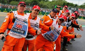 British GP marshals 'won't be tested for COVID-19'