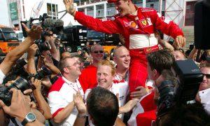 The day Schumacher drew level with Juan Manuel Fangio