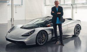 Gordon Murray unveils GMA T.50 ultimate dream car