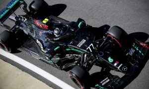 Bottas and Hamilton lead the field in Silverstone FP1