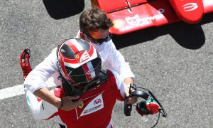 Showing some winning Leclerc brotherly love