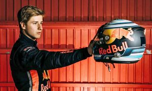 Red Bull Junior driver Juri Vips.