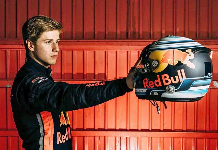 Red Bull Junior driver Juri Vips.