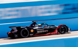 Rowland takes first Formula E win in penultimate Berlin round