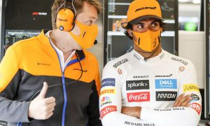 Sainz fears wet race would hamper low-downforce McLaren